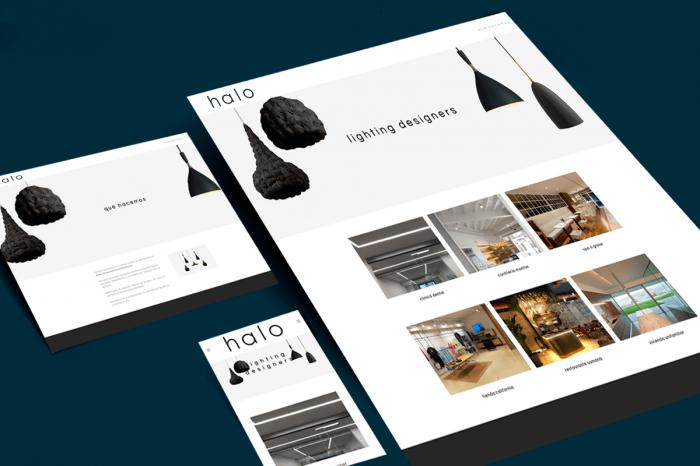 Presentamos la nueva web de halo iluminación